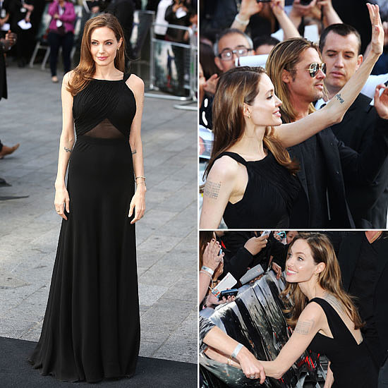 See Angelina Jolie's Triumphant Red Carpet Return, From All Angles