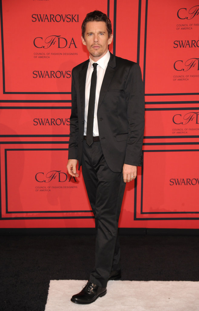 Ethan Hawke attended the CFDA Fashion Awards.