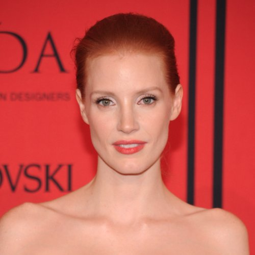 Jessica Chastain Makeup at CFDA Awards 2013