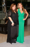 Sofia Vergara posed with jewelry designer Lorraine Schwartz at the CFDA Fashion Awards in NYC.
