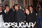 Brad and Angelina Get the Birthday Celebrations Started