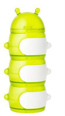 Boon Caterpillar Stack Snack Container