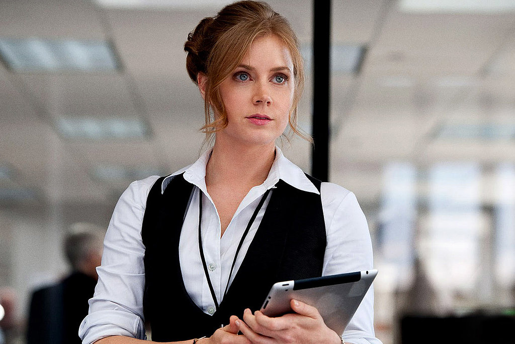 Amy Adams in Man of Steel.