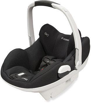 Maxi Cosi® Prezi® Infant Car Seat -  Devoted Black with White Handle
