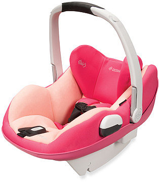 Maxi Cosi® Prezi® Infant Car Seat -  Passionate Pink with White Handle