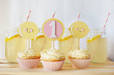Lemonade Cake Toppers