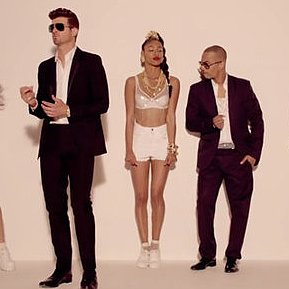 "Robin Thicke ""Blurred Lines"" Music Video"