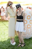Mia Moretti and Caitlin Moe at the sixth annual Veuve Clicquot Polo Classic in Jersey City, NJ.  Source: David X Prutting/BFAnyc.com