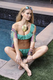 Bar Refaeli rocked a bikini during a January 2010 photo shoot for Rampage.