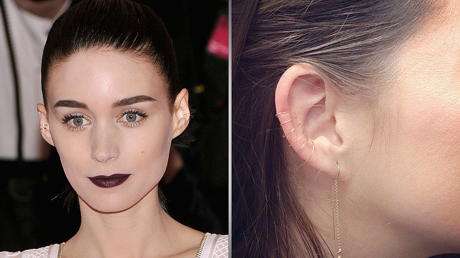 DIY Your Own Cool Ear Cuff à la Rooney Mara