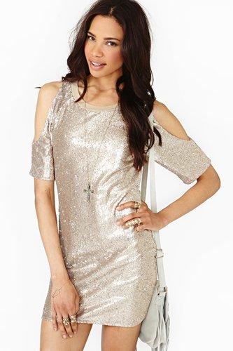 Glint Of Gold Dress