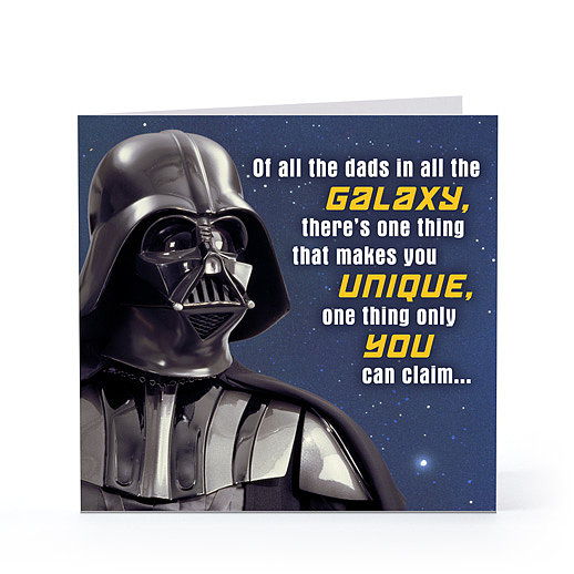 Of All the Dads in the Galaxy