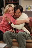 The Big Bang Theory What happens:  Lucy and Raj break up. Leonard gets a new job opportunity on a boat with Stephen Hawking, and he leaves Penny to take it.  Most shocking moment: Raj talks to Penny for the first time without the help of alcohol.