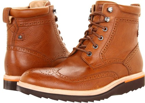 Rockport - Union Street Wing Boot (Black) - Footwear