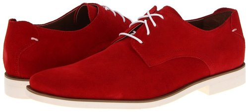 Stacy Adams - Tremain (Red Suede) - Footwear