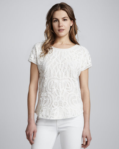 Erin Fetherston Relaxed Lace Tee