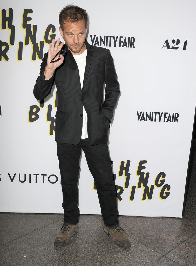 Stephen Dorff arrived at the LA premiere of The Bling Ring.