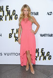 Paris Hilton arrived at the LA premiere of The Bling Ring.