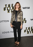 Sofia Coppola wore a sequined blazer to her LA premiere.