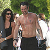 Colin Farrell Shirtless in LA | Photos