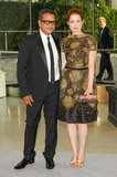 Ellie Kemper with Naeem Khan. Source: Neil Rasmus/BFAnyc.com