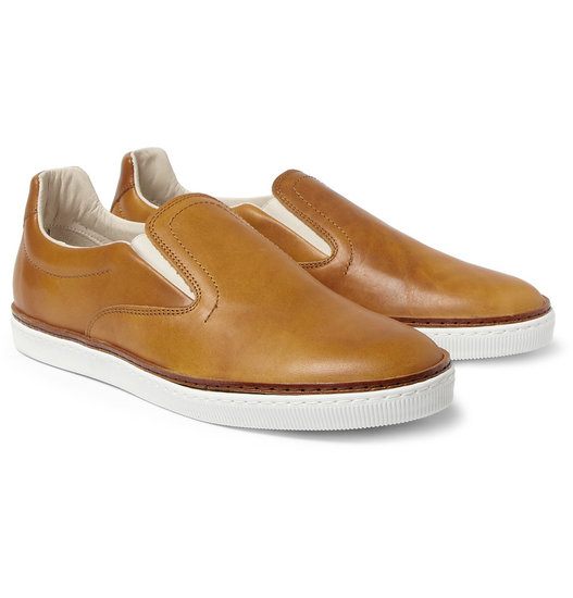 Fancy up a laid-back dresser or encourage a dapper gent to dress down. No matter who he is, we guarantee these leather Maison Martin Margiela kicks ($510) will find a place in his closet.