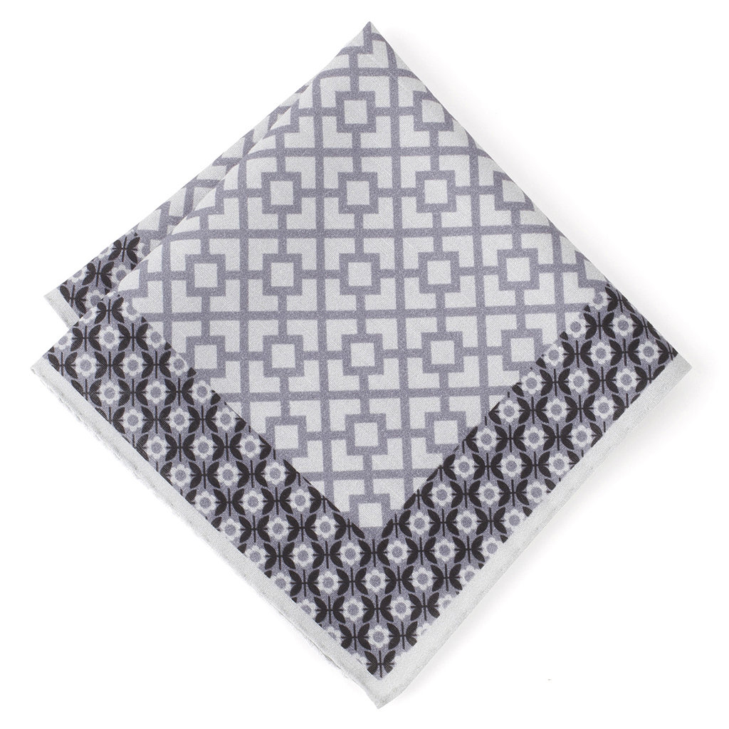 The natty dresser can never have too many pocket squares! The subdued gray of this Jonathan Adler pick ($70) makes it a match for whatever stylish pieces he's got in his closet.