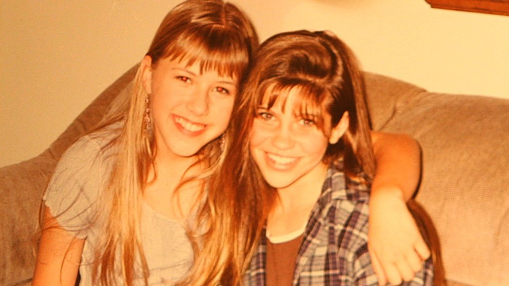 With Jodie Sweetin