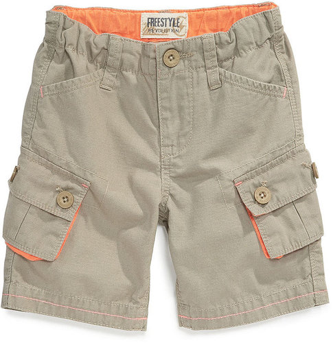 Freestyle Kids Shorts, Little Boys Rip-Stop Cargo Shorts