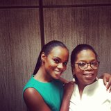 Oprah brunched with actress Tika Sumpter. Source: Instagram user oprah