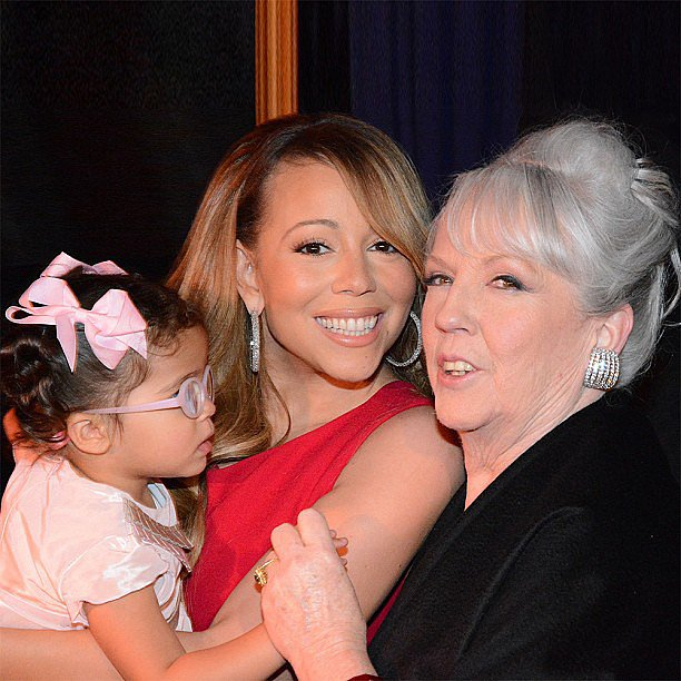 Mariah Carey spent quality time with her mother, Patricia, and her daughter, Mon