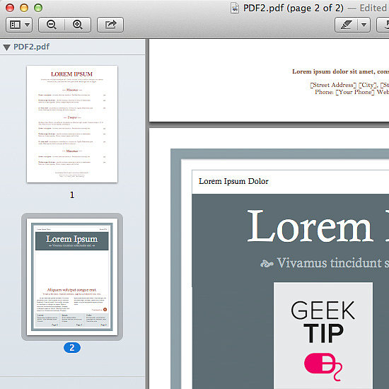 The Easiest Way to Combine PDFs in Mac OS X
