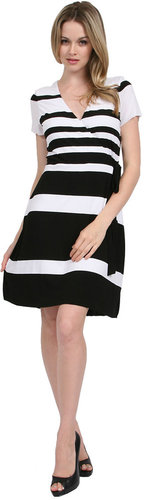 Bailey 44 Photo Finish Dress in Black/White