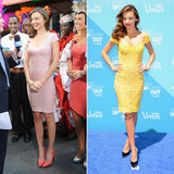 Miranda Kerr Wears Two Tight Dresses in NYC
