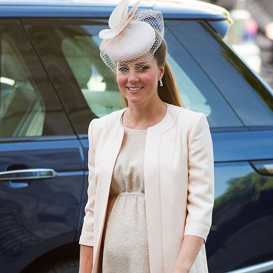 Pregnant Kate Middleton Goes Monochrome — See All Her Stylish Moments!