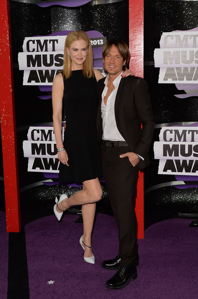 Nicole Kidman and Keith Urban at the 2013 CMT Awards.