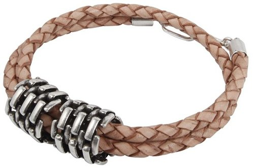 Jean Leather Bracelet in Tan