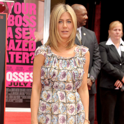 Jennifer Aniston Wears Prada Dress Again