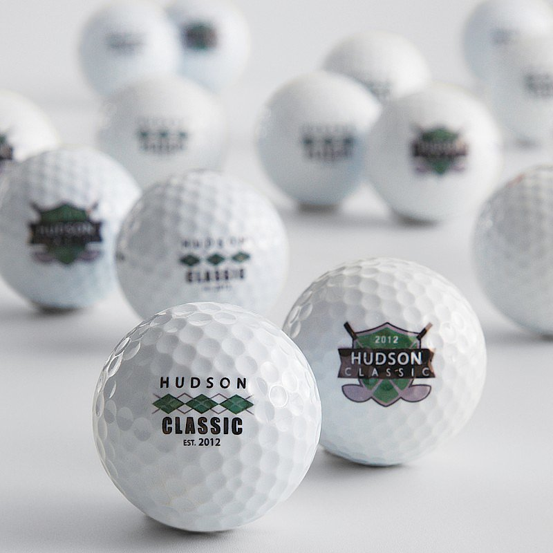 Red Envelope Personalized Golf Balls