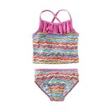 Tea Collection Rainbow Waves Tankini