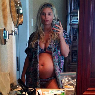 Jessica Simpson Pregnant and Cute Family Pictures