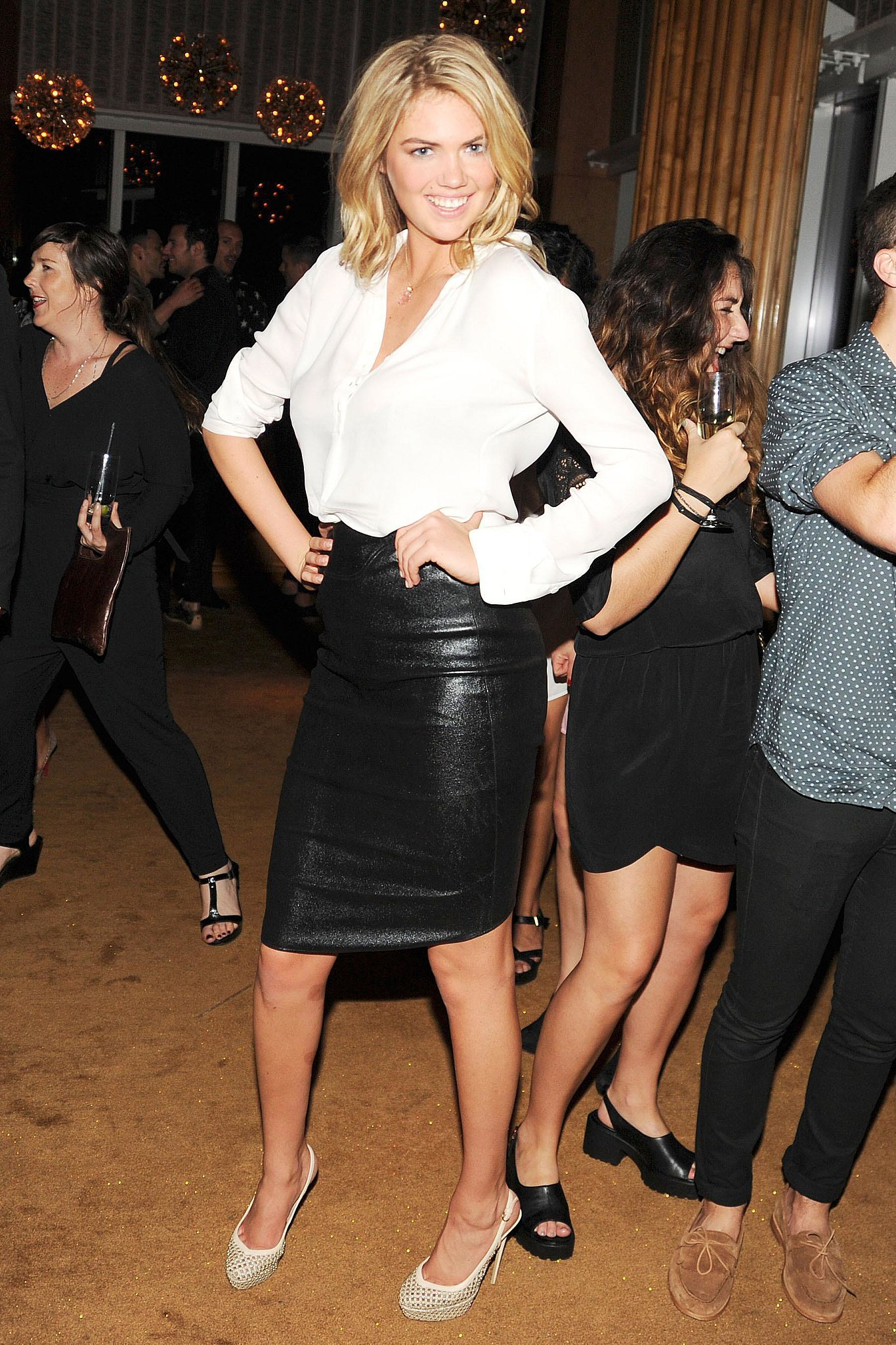 Kate Upton at the 2013 Swarovski-hosted CFDA Awards afterparty at The To