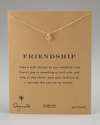 This Dogeared Friendship anchor pendant necklace ($58) isn't just cute, it also comes wrapped with words of wisdom about being a true friend.