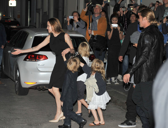Angelina Jolie Celebrates Her Birthday With the Whole Family in Berlin
