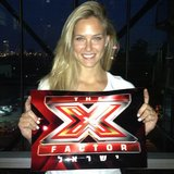 Bar Refaeli promoted The X Factor US in her native Israel. Source: Instagram user barrefaeli