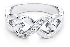 Paloma Picasso® Double Loving Heart ring