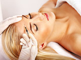 Young Women Getting Cosmetic Treatments