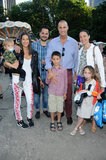Nigel Barker and Rebecca Minkoff met up at the event with their families.