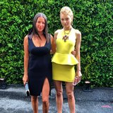 Rebecca Minkoff and Jessica Stam made a stunning pair at the CFDA Awards. Source: Instagram user cfda