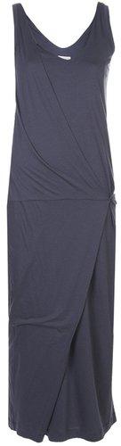 Brunello Cucinelli long sleeveless dress